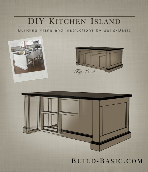 Building Kitchen Island: Build DIY Build Your Own Kitchen Island Ideas PDF Plans