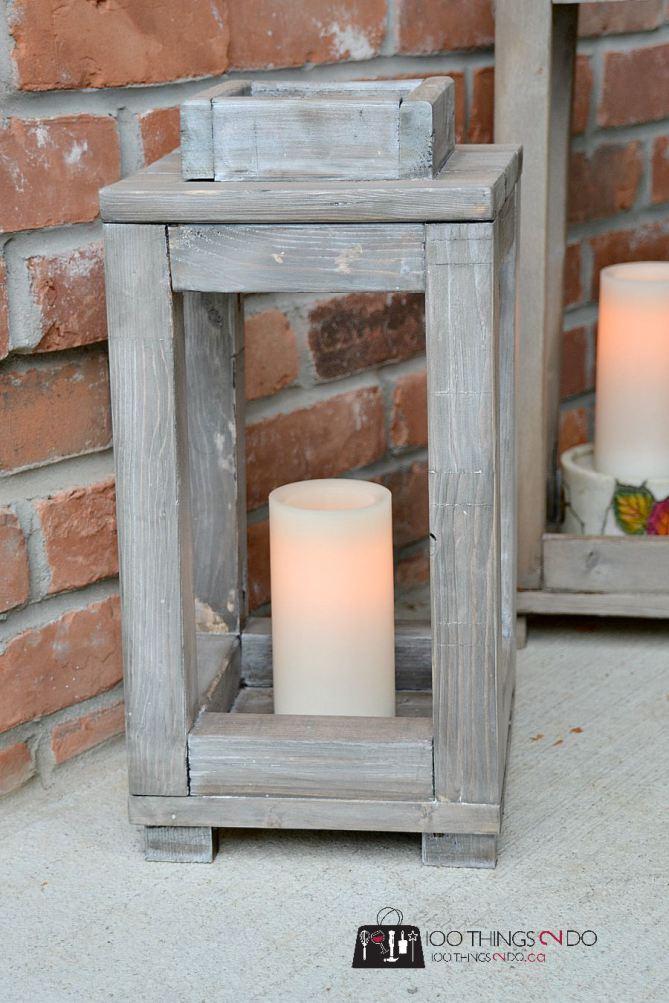 DIY Wooden Lantern Roundup Build Basic