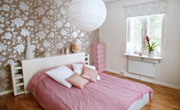 Какие обои выбрать для спальни и как выбрать цвет с фото