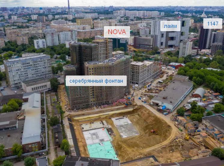 """ЖК """"NOVA Алексеевская"""""""