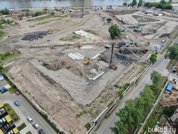 Ход строительства ЖК Nagatino i-Land
