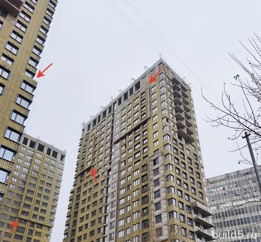 ЖК Талисман на Дмитровском фасады