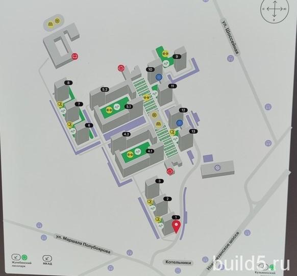 жк жулебино парк на плане