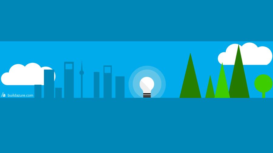 Build Azure Desktop Wallpaper
