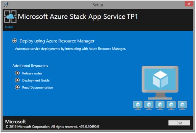 AzureStack-AppServiceTP1Installer