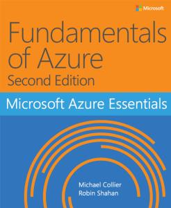 Free eBook: Fundamentals of Azure 1