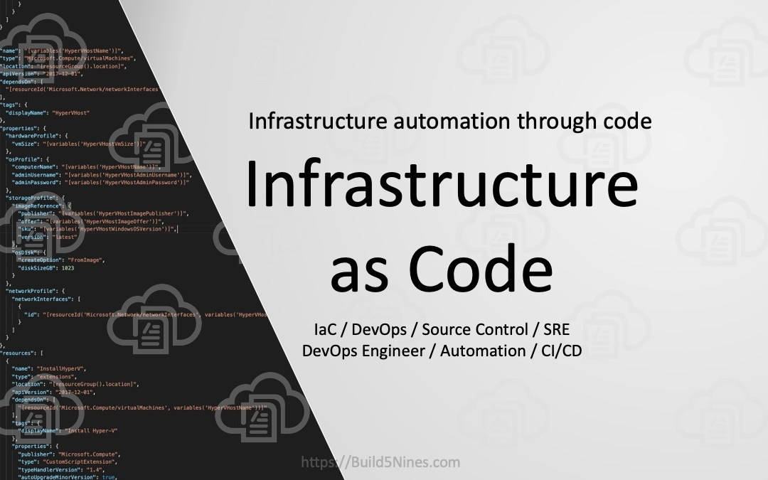 What is Infrastructure as Code?