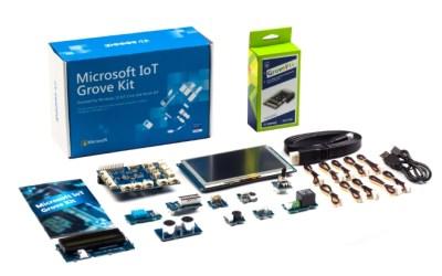 Microsoft IoT Grove Kit for Raspberry Pi