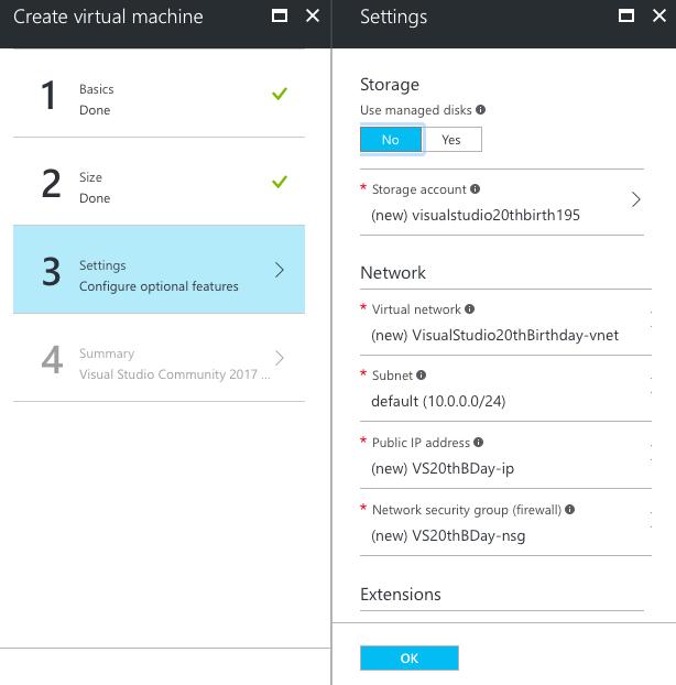 vs17-azureportal-new-settings