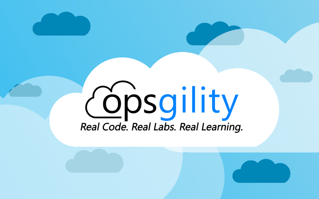 My recent Azure Training Courses on Opsgility.com