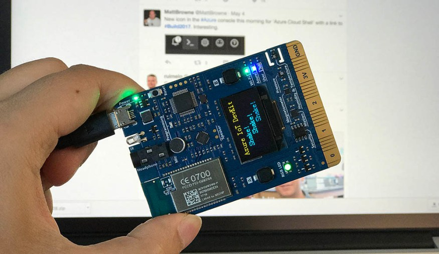 Azure IoT DevKit Preview built with Arduino and VSCode