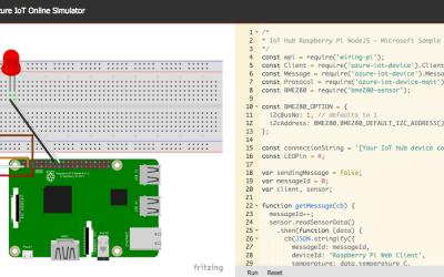 Raspberry Pi Device Simulator for Azure IoT