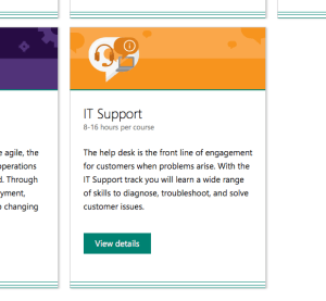 Microsoft Professional Program Adds IT Support for 6 Tracks to Choose! 2
