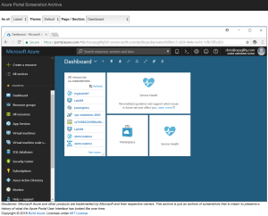 Azure Weekly: Mar 26, 2018 - New Azure Portal UI Archive Project 2