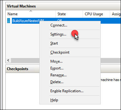 Nested VMs in Azure with one click?  You must be crazy… 20