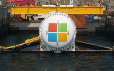 Underwater Azure Datacenter with Project Natick
