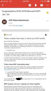Chris Pietschmann Awarded 2018 Microsoft MVP - Azure 2