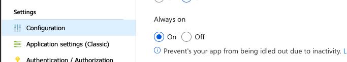 """Fix Azure Front Door Error with Azure Web App """"Always on"""" Configuration 2"""