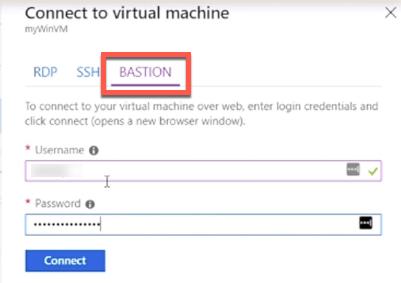 Azure Bastion: VM RDP & SSH Access within Azure Portal 5
