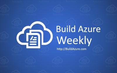 Azure Weekly: October 21, 2019