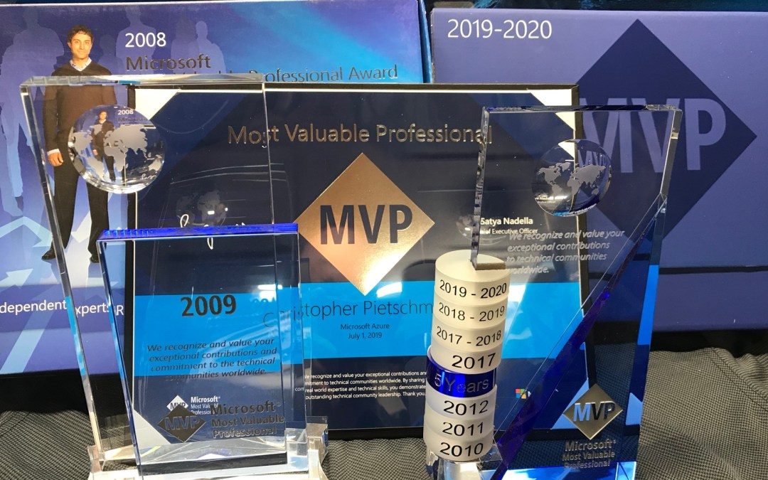Chris Pietschmann Awarded 2019 Microsoft MVP in Azure