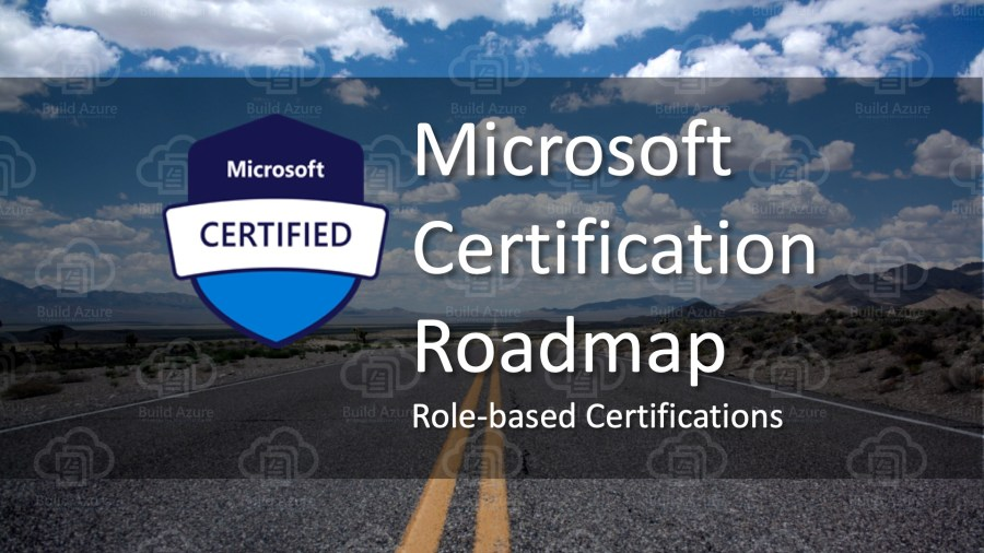 Microsoft Certification 2019 Roadmap for Role-based Paths