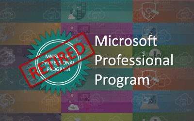 Goodbye, Microsoft Professional Program is Retiring