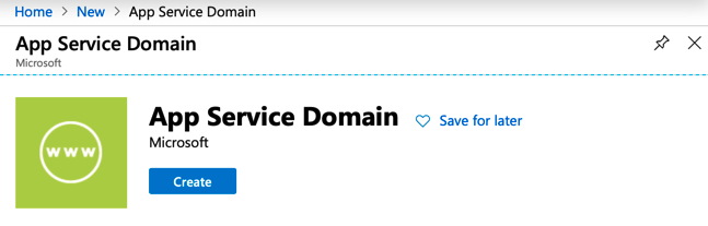 Buy Domain Names with Azure App Service Domain 1