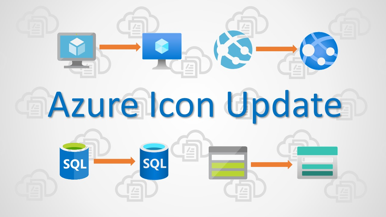 Azure Icon Update Coming New Icon Images Build5nines