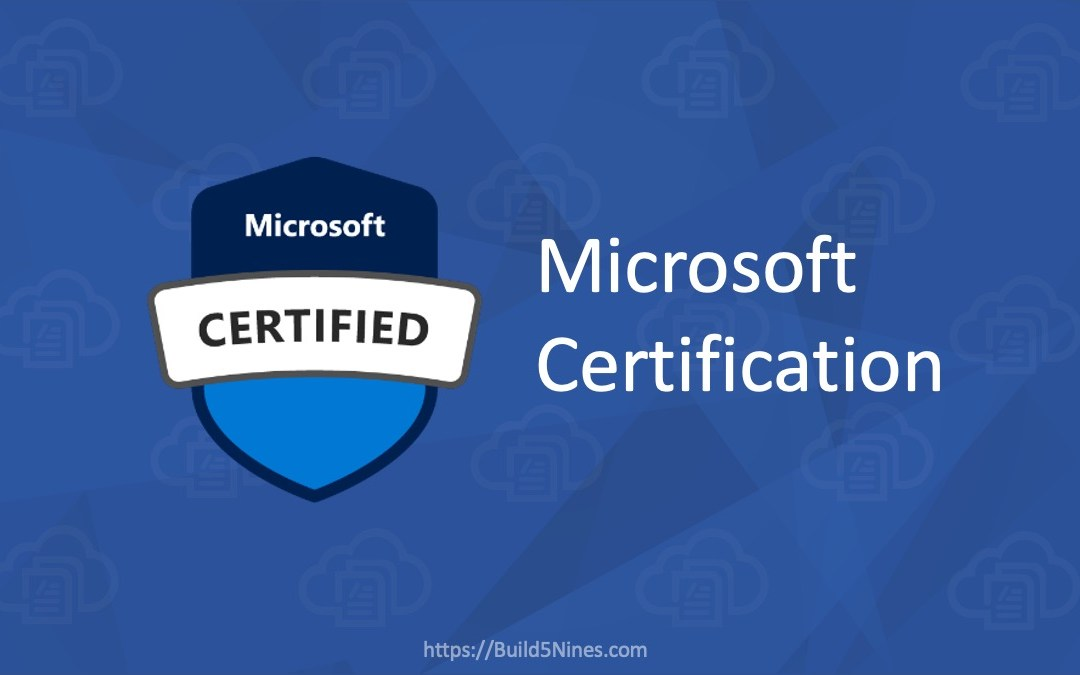 Microsoft Azure Certification Changes Coming Early 2020
