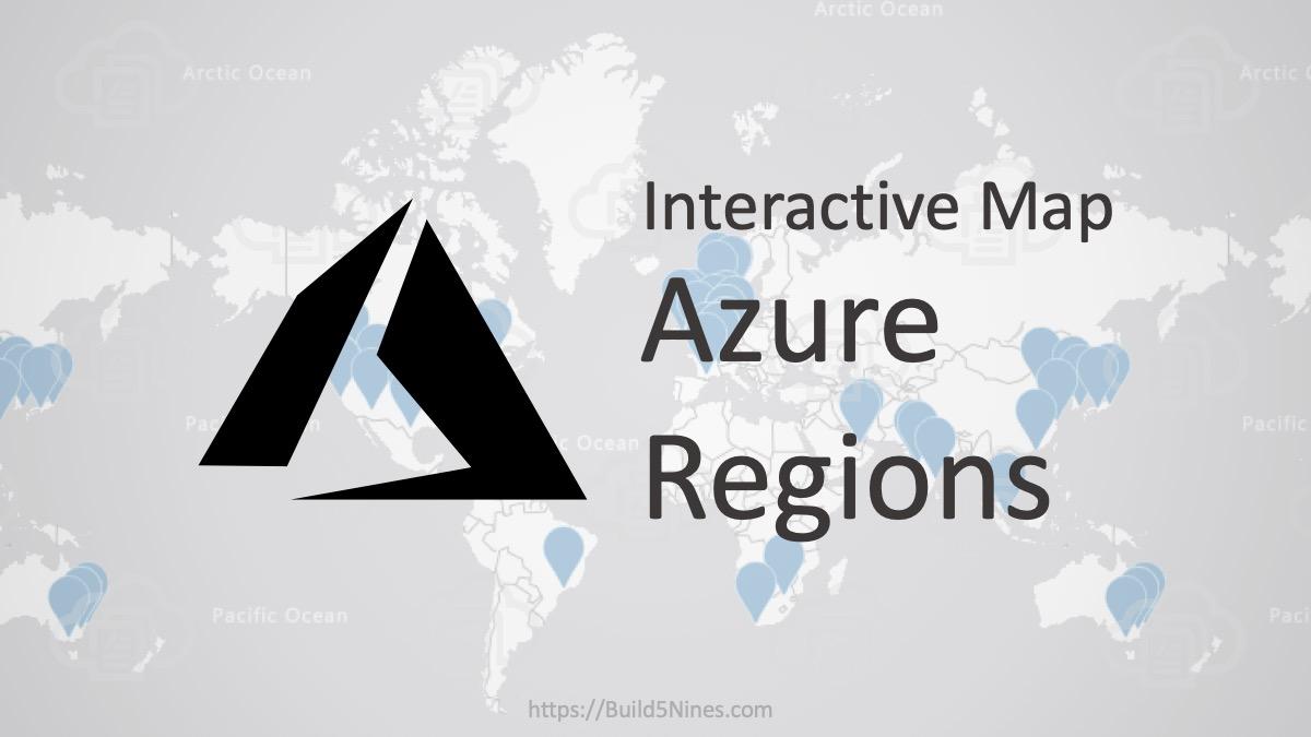 Azure Regions Interactive Map 7