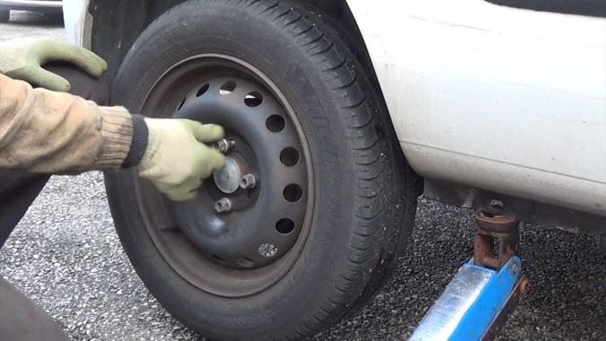 Changer les freins arrieres
