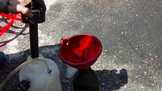 A la fin de la purge, contrôler le frein en actionnant plusieurs fois la pédale