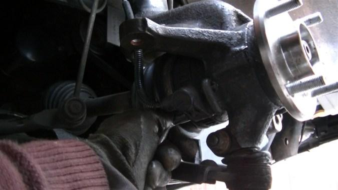 Reposer le capteur ABS