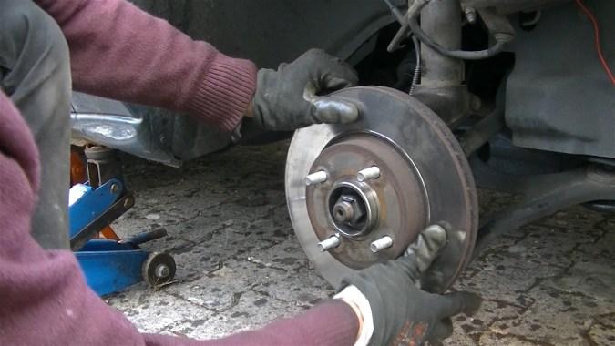 Reposer le disque de frein