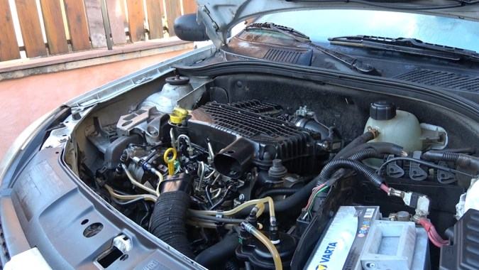 Si le moteur démarre avec le nettoyant frein, il s'agit probablement d'un problème d'injection de carburant