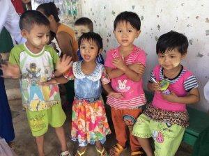 Children at Colorful Flowers Preschool