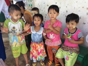 Children at Colorful Flowers Preschool