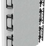 BuildBlock Hardwall showing webs, cement board