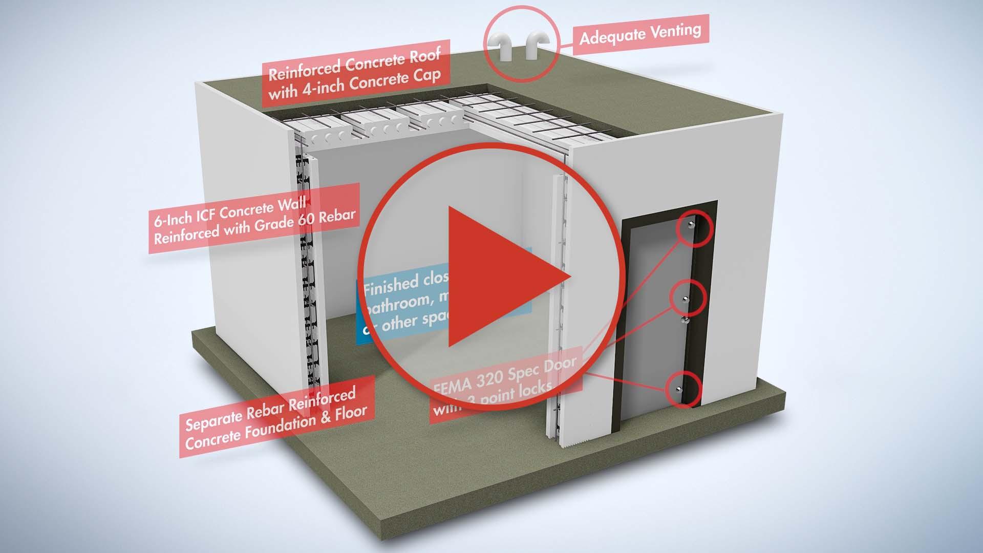 BuildBlock ICF Safe Rooms Video