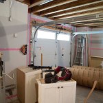 Garage During Construction