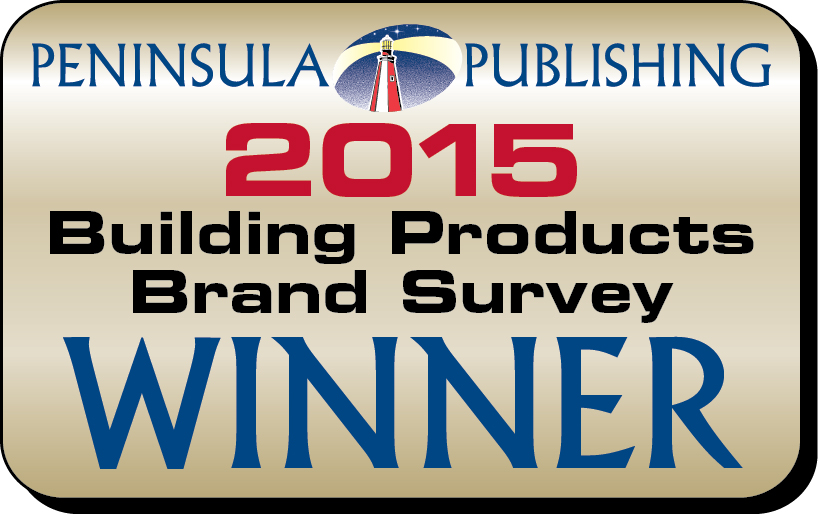 2015 Penninsula Publishing Brand Survey Winner Logo