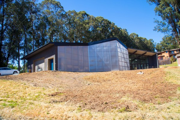 Oakland ICF Home Finished exterior