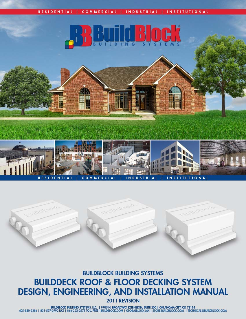 BuildDeck Roof & Floor Decking System Design, Engineering, and Installation Manual