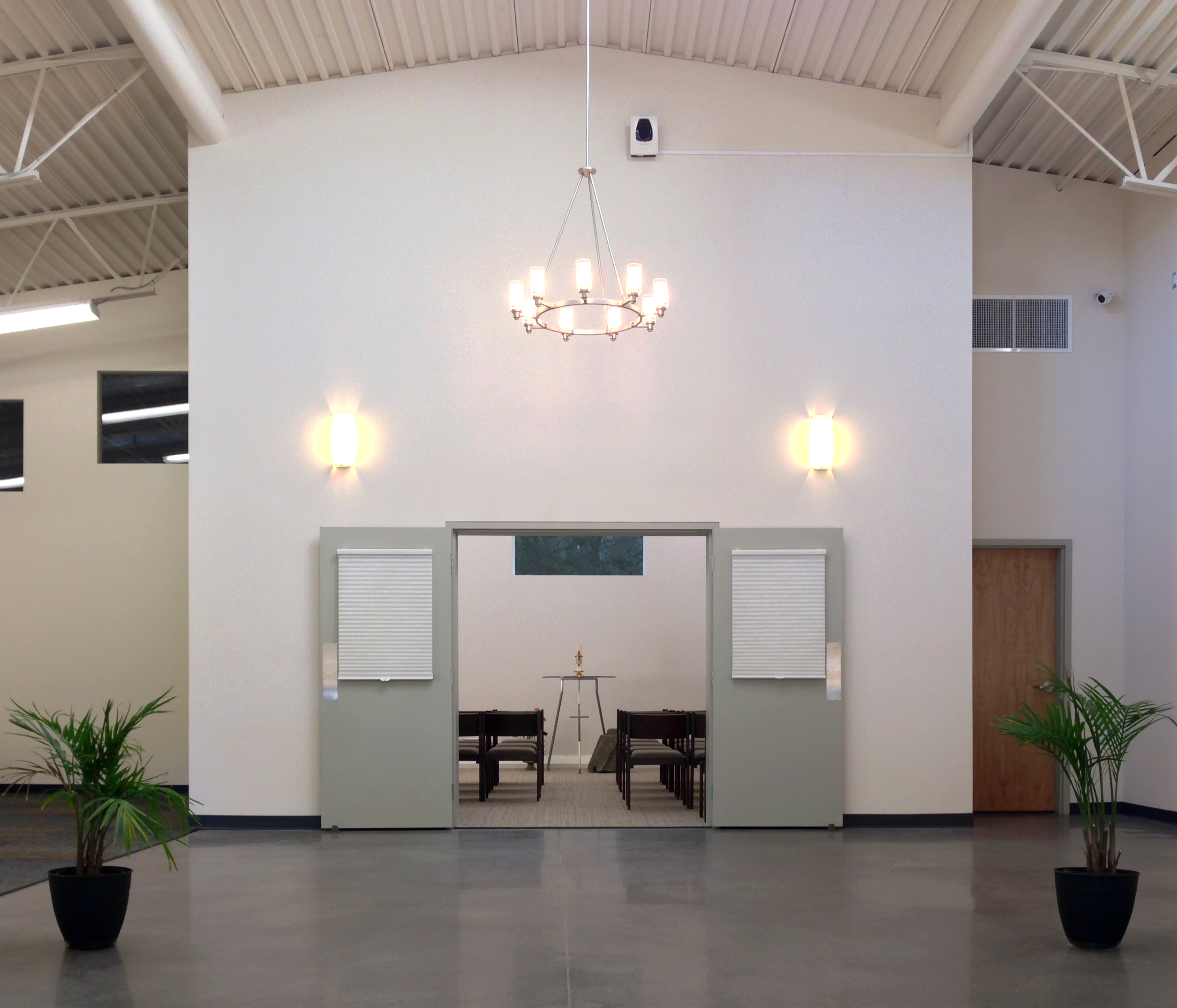 BuildBlock ICFs selected in Holy Shepherd Lutheran Church project for superior performance characteristics and ease of construction in Orinda, CA.
