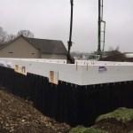 ICF Walls and Below Grade Waterproofing