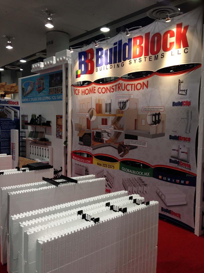 BuildBlock at 2015 NAHB International Builders Show