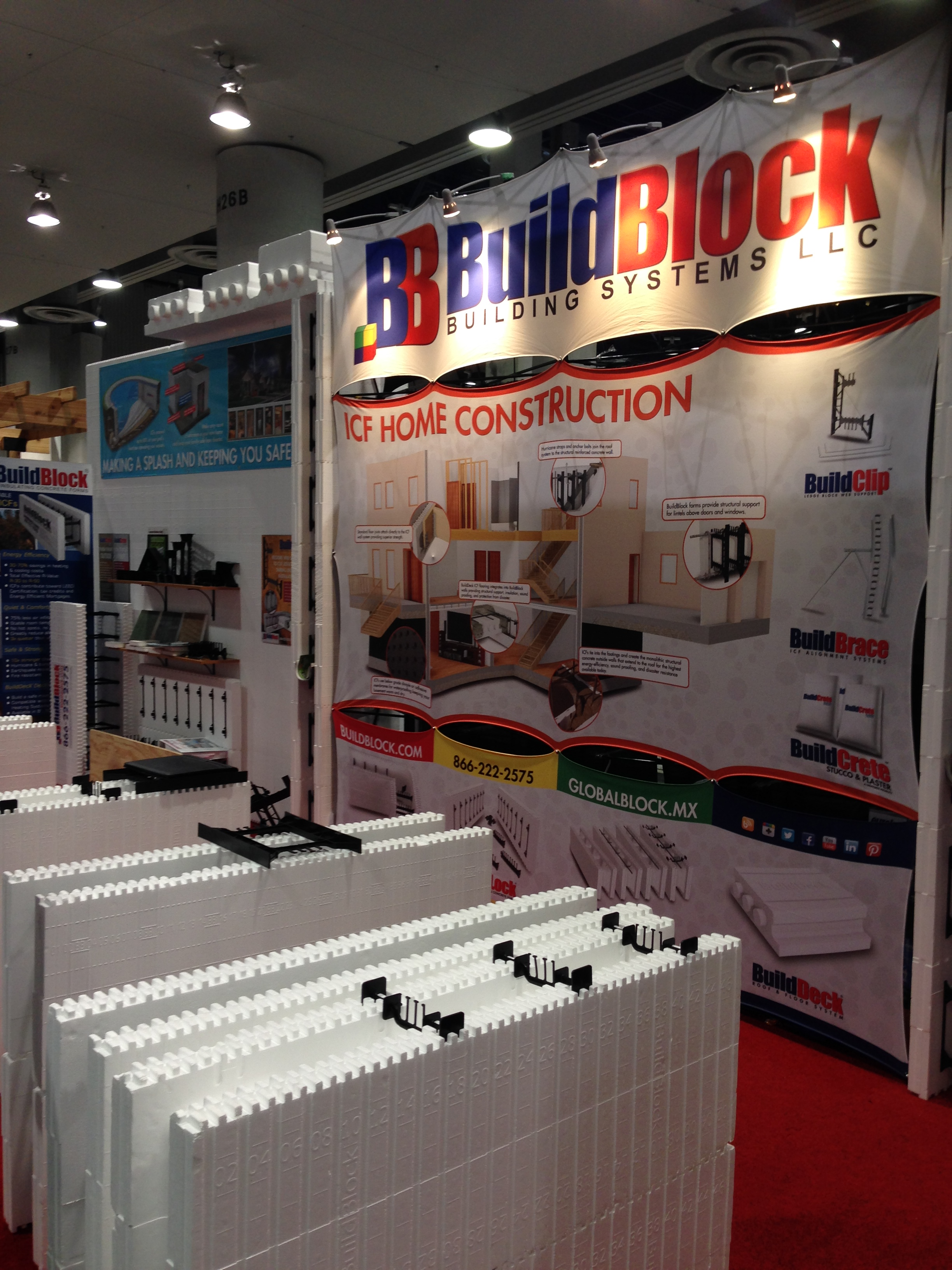 BuildBlock at 2015 NAHB International Builders Show