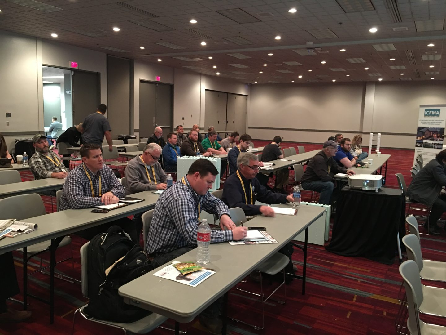 ICF Training at World of Concrete
