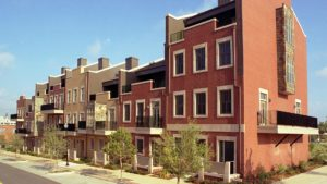 Brownstones multifamily ICF project